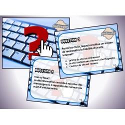 Cartes à tâches : Désinformation