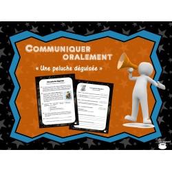 Communiquer : Une peluche déguisée (Halloween)