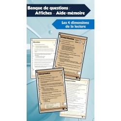 Affiches - Banque de questions pour la lecture