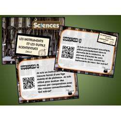 Cartes à tâches : Instruments scientifiques 2 QR