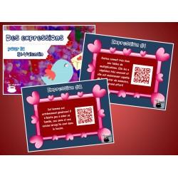 Cartes à tâches : Expressions pour la St-Valentin