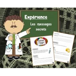 Expérience : Les messages secrets