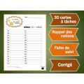Cartes à tâches : Animaux, régimes alimentaires