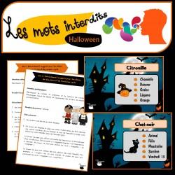 Communiquer : « Les mots interdits » (Halloween)