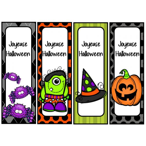 signets d'Halloween