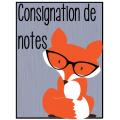 Consignation de notes