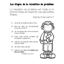 Les 7 étapes de la résolution de problème