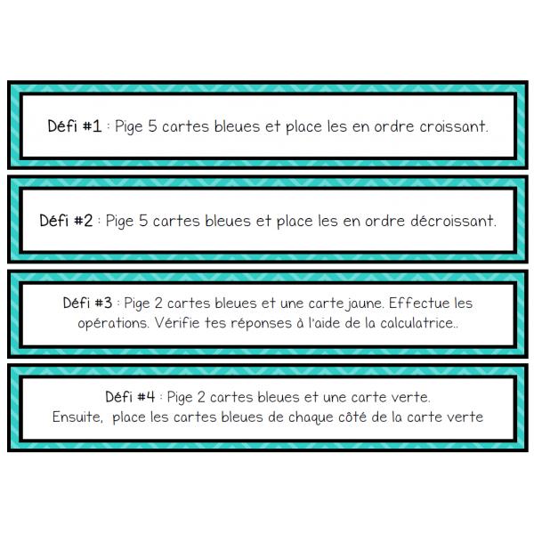 6 ateliers sur les nombres décimaux