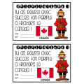 mon voyage à travers le Canada