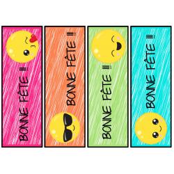 signet anniversaire - emojis