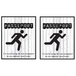 passeport pour circuler dans l'école