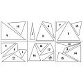 les triangles (mesurer et classer)