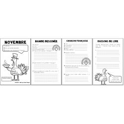 carnet de lecture novembre - BD + chanson
