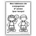 conjugaison - tableaux de verbes par temps