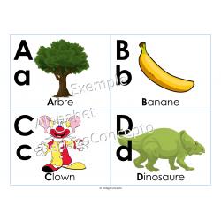 """""""Alphabet en images"""" Affiches alphabet"""