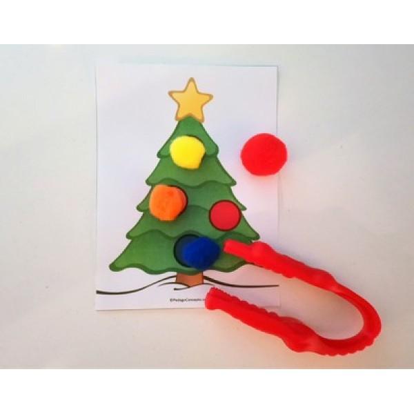 Décore le sapin de Noel de boules