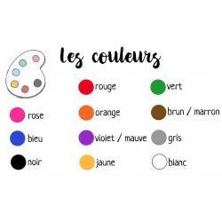 Référentiel des couleurs