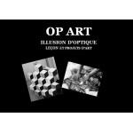 OP ART lessons et projets d'art