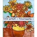 VAN GOGH Tournesols : activité d'art