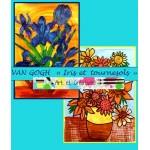 VAN GOGH- Iris et tournesols