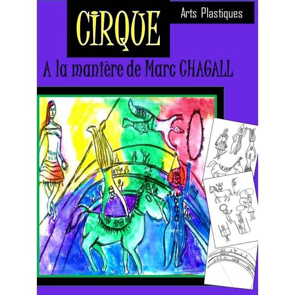 A la manière de CHAGALL, activité d'art