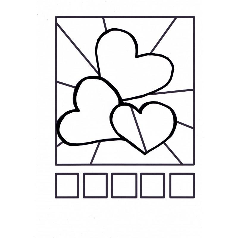 Coloriage Fleur Britto.Pop Art Cartes A Colorier