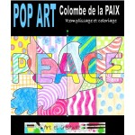 POP ART Colombe de la PAIX- coloriages