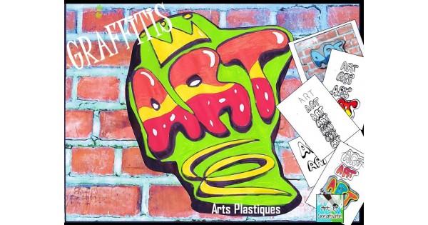 Fabulous GRAFFITIS simples - Arts plastiques SQ62
