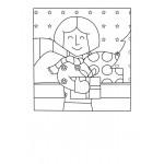 POP ART-Cartes à colorier HIVER