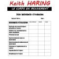 Keith HARING activités - le corps en mouvement