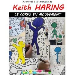 HARING - Le corps en mouvement