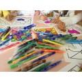 Cartes fête des mères - Coloriages POP ART