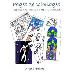 MATISSE - Pages de coloriage