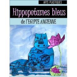 Hippopotames de l'Egypte antique, arts plastiques