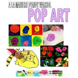 POP ART à la manière de WARHOL