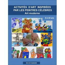 Activités d'art  inspirées des peintres célèbres
