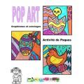 POP ART, COLORIAGES DE PAQUES