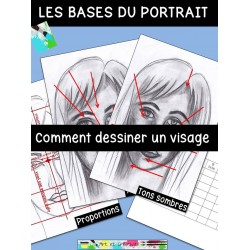 Comment dessiner un visage, les bases du portrait