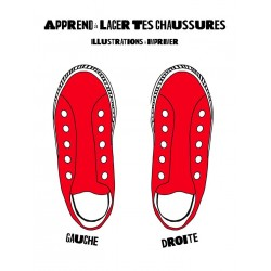 Chaussures à lacer imprimables