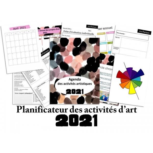 Planificateur d'activités artistiques 2021