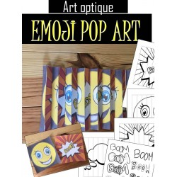 Agamographe - Emoji Pop Art