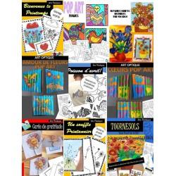 Activités artistiques du Printemps - Pack