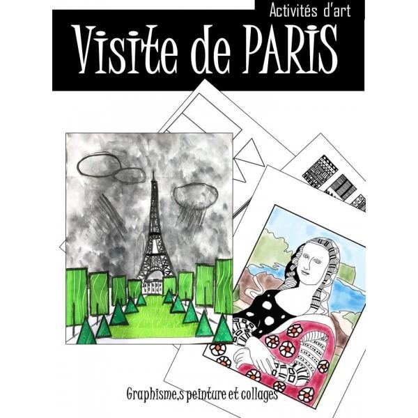 PARIS, chefs d'œuvres d'art- Activités artistiques