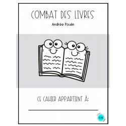 Combats de livres - Andrée Poulin