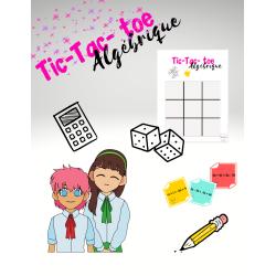 Tic-Tac-Toe Algébrique