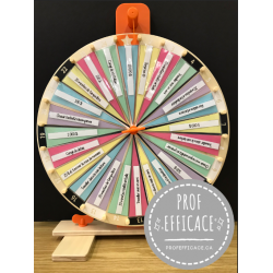 Roue chanceuse personnalisable