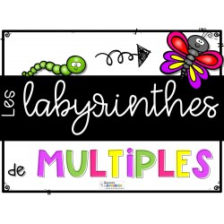 Les labyrinthes de multiples