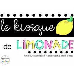Le kiosque de limonade - Les nombres décimaux