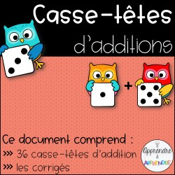 Casses-têtes d'additions