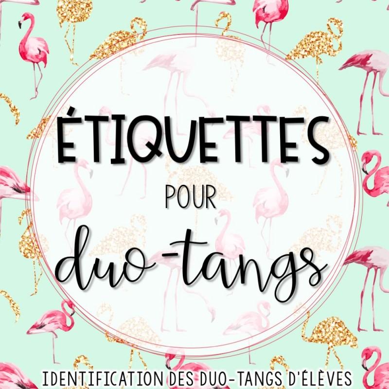 Tiquettes d 39 identification des duo tangs l ves - Bureau en gros etiquettes personnalisees ...
